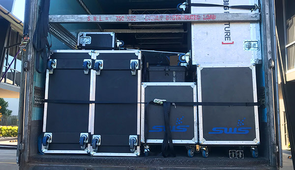 Rigid Trailers built for touring road cases